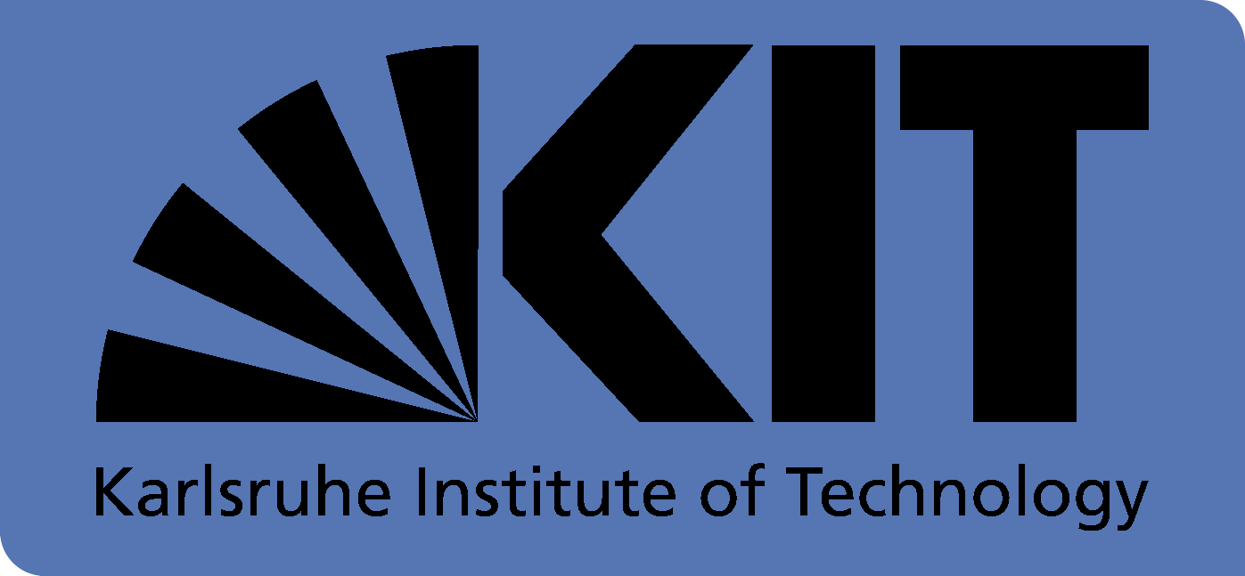 english logo of KIT with transparent background